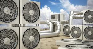 HVAC maskiner
